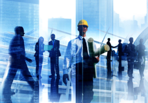 Engineer Architect Professional Occupation Corporate City Work C